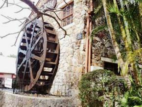 Village Water Wheel